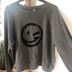 All Things Fabulous smiley sweatshirt